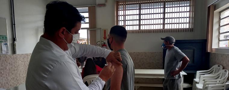 Unidades industriais da Cotrisel de São Sepé recebem vacinação contra Covid- 19