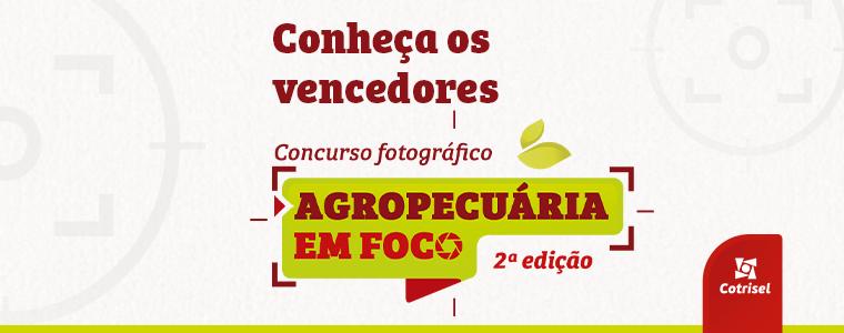 Confira os vencedores do 2º Concurso Fotográfico Agropecuária em Foco
